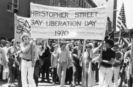 Christopher Street Liberation Day, New York, 1970.