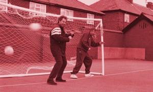 Tony Blair and Alex Ferguson in 1996.