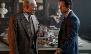 Christopher Plummer (left) and Mark Wahlberg in All The Money in the World