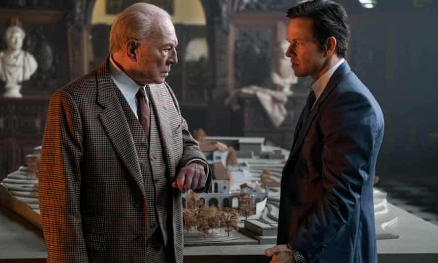 Plummer and Mark Wahlberg in All the Money In the World.