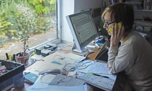 There are about 1.7 million UK employees working from home, according to the TUC.