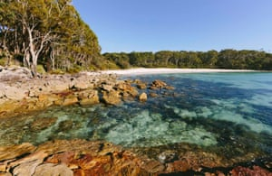 Greenfields beach, Jervis Bay national park.