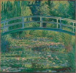 A prodigy, a natural, born to paint … a 1899 painting of waterlilies.