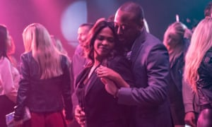 Nia Long and Omar Epps in Fatal Affair, a film that plays the Fatal Attraction formula with nothing new on the table.