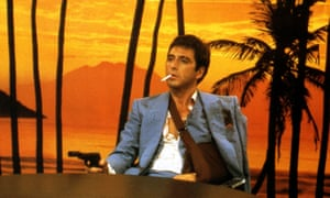 Al Pacino in Scarface.