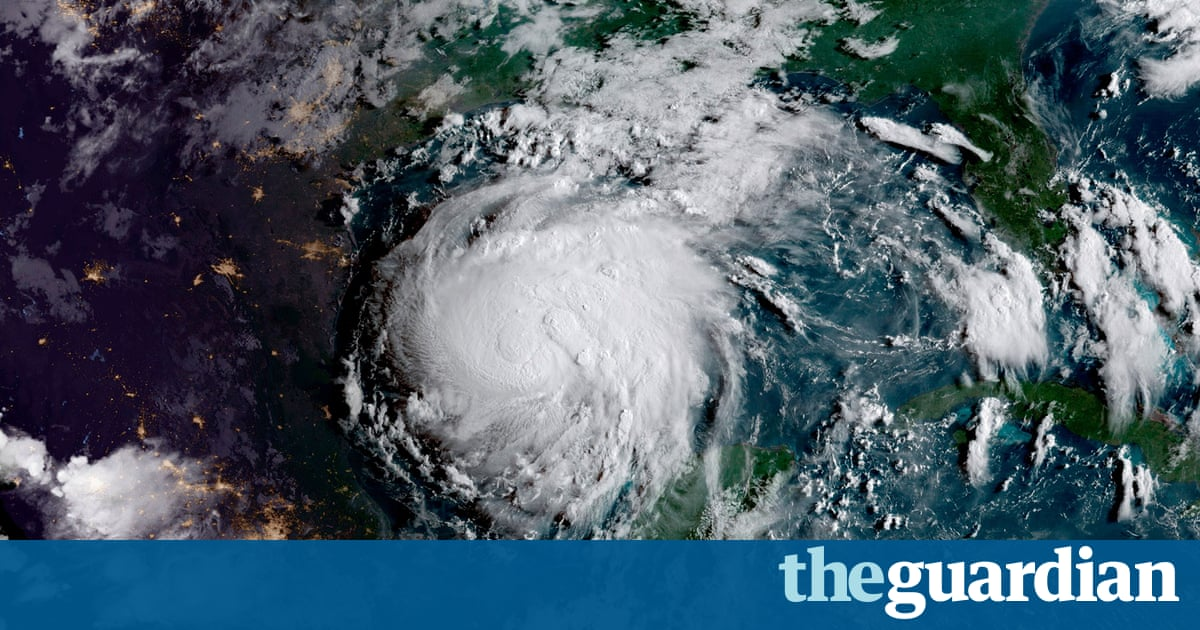 Hurricane Harvey: evacuations under way as storm heads for Texas