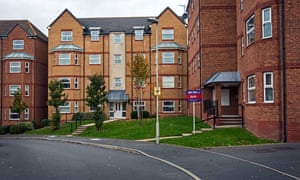 Despite the 'sold' sign at the development in Dudley, some lenders are refusing to offer mortgages to prospective buyers because of fears over spiralling ground rents.