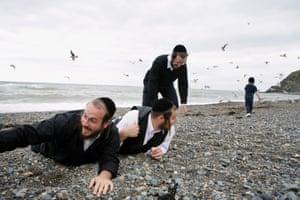 Hasidic holiday-makers by Chloe Dewe Mathews.