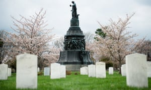 The Confederate Monument at Arlington National Cemetery.