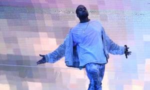 Kanye West … On Saturday NIght Live on 13 February.