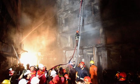 Dhaka fire that killed 80 raises questions over chemical stores