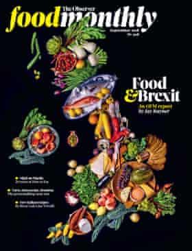 Observer Food Monthly cover September 2018 OFM Brexit