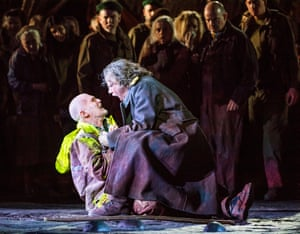 Alan Oke and Johan Reuter in Oedipe by George Enescu.