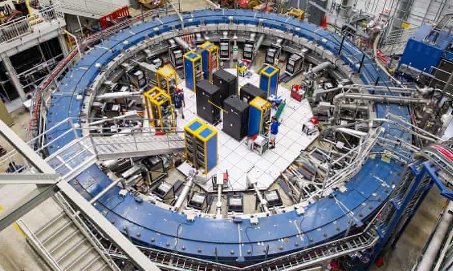 Fermilab in Illinois, announced a new measurement of the 'magnetic moment' of the muon – one of the universe's elementary particles.