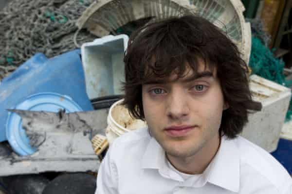Boyan Slat, founder of the Ocean Cleanup project.