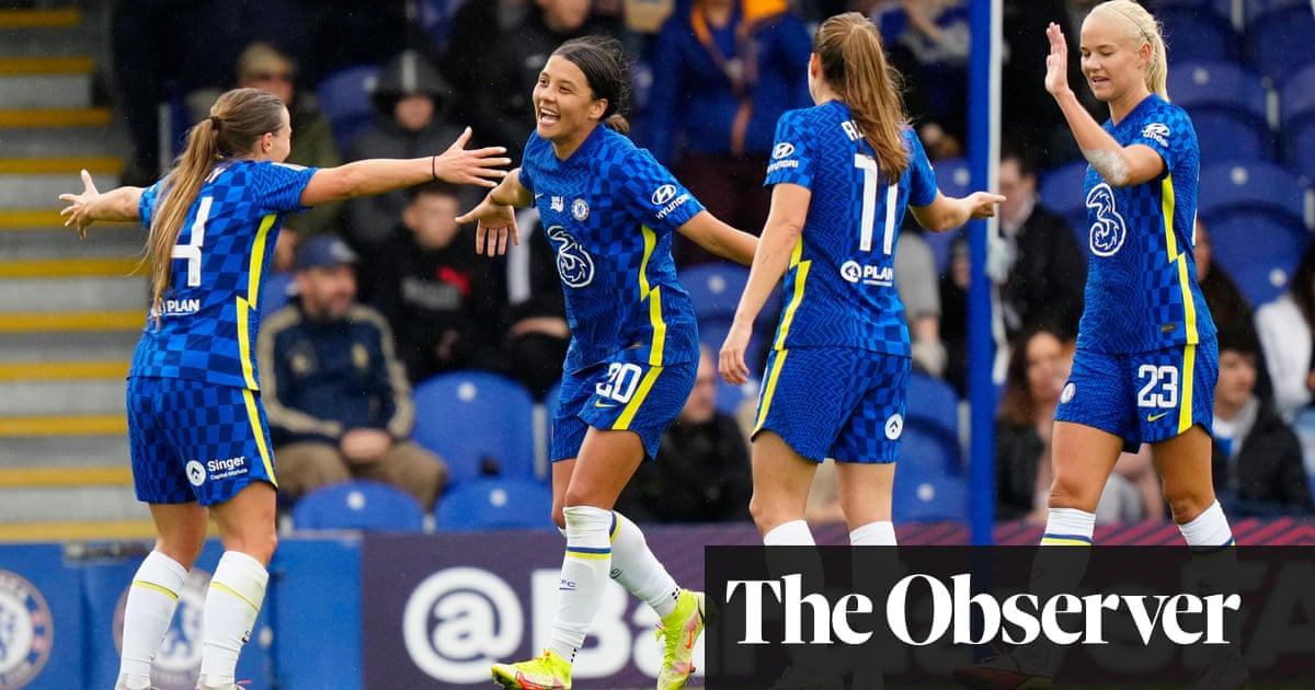 Chelsea's Fran Kirby helps deliver WSL revenge against Brighton