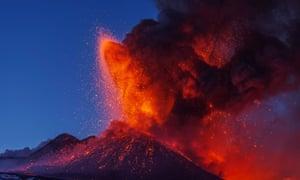 'Always alive': Etna erupts in 2013.