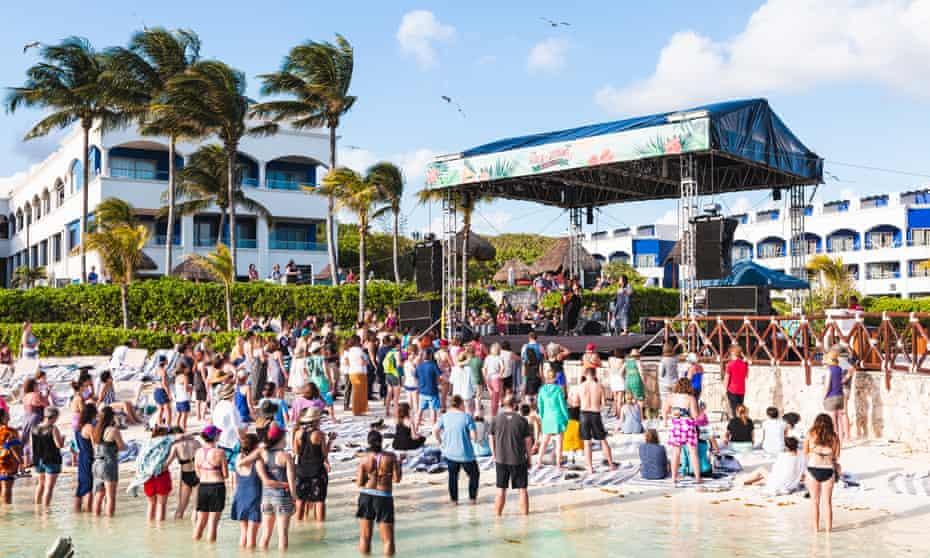 Brandi Carlile's Girls Just Wanna weekend in Cancun last month.