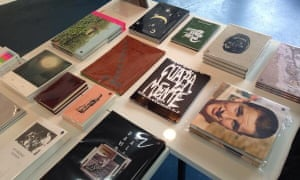 A selection of zines from print & design studio, shop & gallery in London