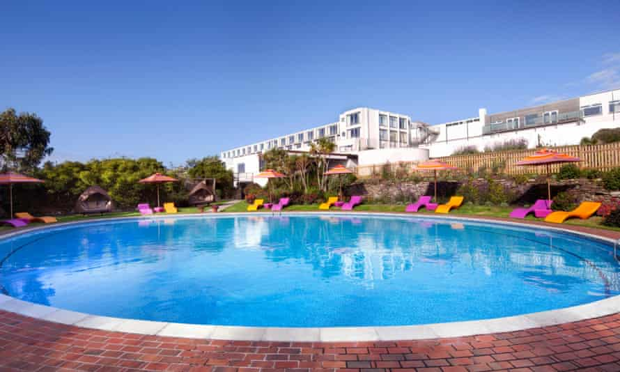 Make a splash: Bedruthan Hotel
