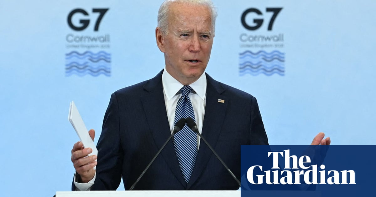 G7: Biden says democracies in 'contest with autocrats' as G7 summit ends – video