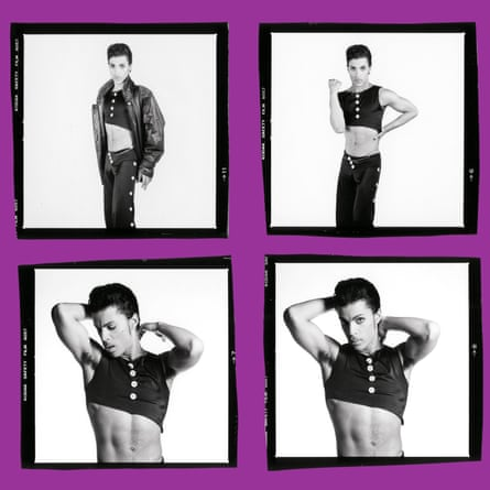 Outtakes from the cover shoot for Parade, released in 1986.