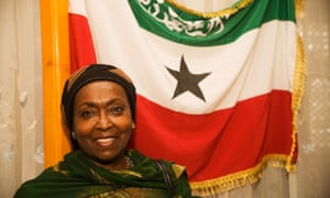 Edna Adan, Somaliland's foreign minister, in 2005.