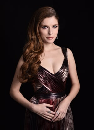 Also live from the other side of the world … Anna Kendrick, who joined in from Hollywood.