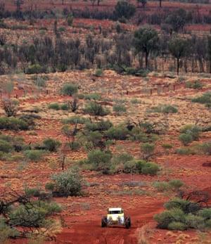 Not Mad Max: the Finke desert race, Northern Territory.