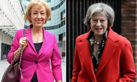 Andrea Leadsom and Theresa May