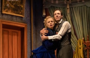 Ksenja Logos and Nathan O'Keefe as Mr and Mrs Manningham in Gaslight by Patrick Hamilton.
