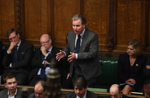 Oliver Letwin speaks in the House of Commons