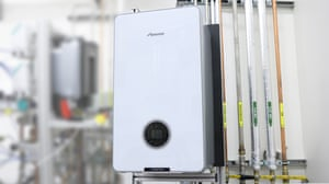 Worcester Bosch's hydrogen-fired boiler.