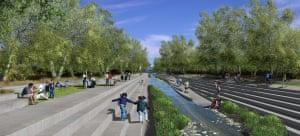 LA river redevelopment