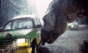 A masterclass in tension and release … Jurassic Park, 1993.