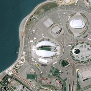 The Fisht Olympic Stadium in Sochi