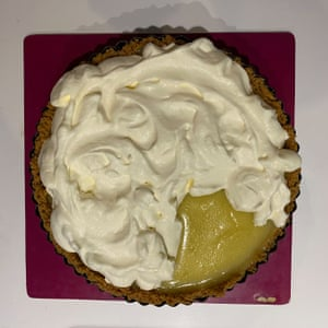 Stephen Shore's key lime pie. Thumbnails by Felicity Cloake.