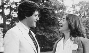 Hillary with Bill Clinton at Wellesley College, Massachusetts, 1979.