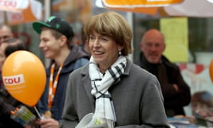 Henriette Reker was campaigning for the mayoral election in Cologne when she was attacked on Saturday.