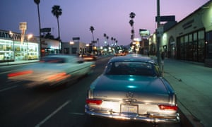 Leaving Los Angeles … Sunset Boulevard.