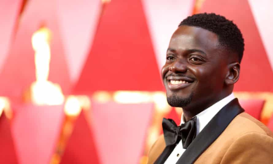 Polished performance: Daniel Kaluuya has been namechecked by Fenty Beauty for using its foundation.
