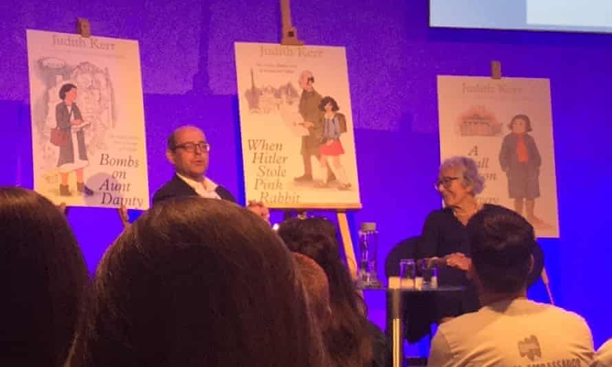 Judith Kerr at the Holocaust Educational Trust's ambassador conference in 2018