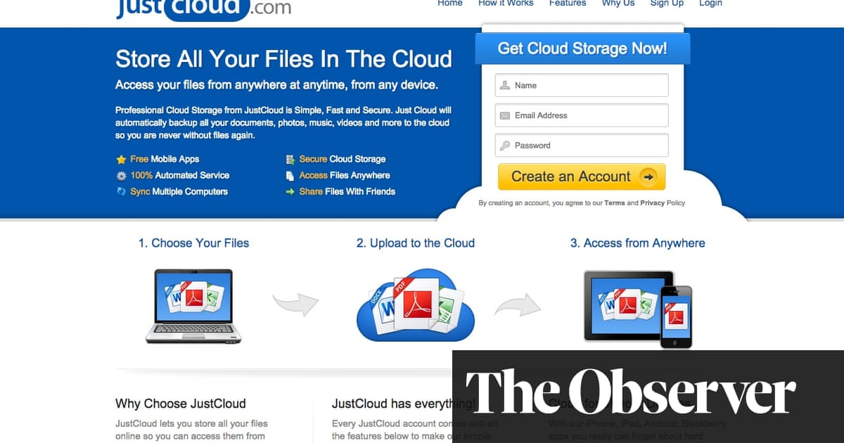 JustCloud com: the no-backup backup service I trusted to