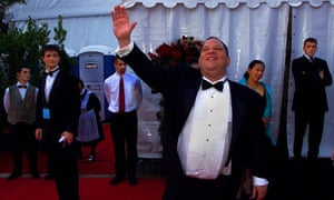 Harvey Weinstein at the Cannes film festival in 2001.