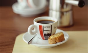 A coffee.