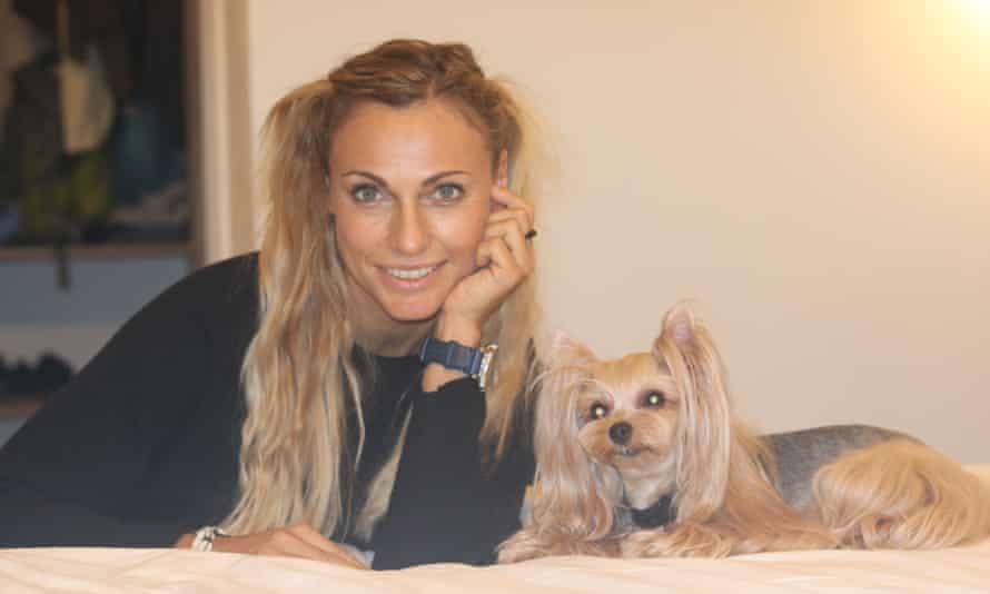 Dr Claudia Fugazza with Vicky Nina.
