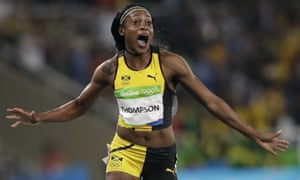 Elaine Thompson surges clear to capture women's 100m gold ...