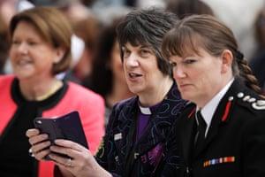 Bishop of Gloucester Rachel Treweek attends