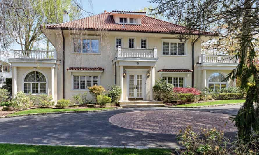 The home where F Scott Fitzgerald lived in Great Neck Estates on Long Island
