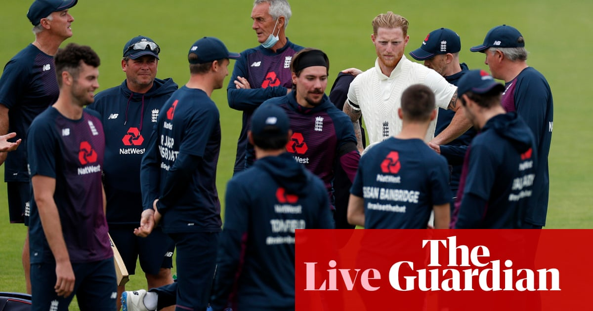 England v West Indies: first Test, day one, play to start at 2pm – live!